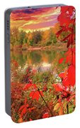 Autumn Garlands Portable Battery Charger