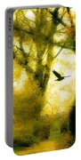 Autumn Graveyard Portable Battery Charger