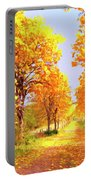 Autumn In Tuscany Portable Battery Charger