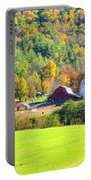 Autumn On The Farm Portable Battery Charger