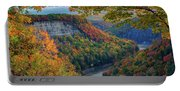 Autumn On The Genesee II Portable Battery Charger