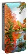 Autumn On The Mersey River, Kejimkujik National Park, Nova Scotia, Canada Portable Battery Charger