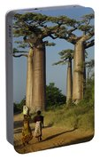 Avenue Des Baobabs Portable Battery Charger