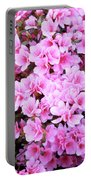 Azalea Flowers Portable Battery Charger
