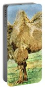 Bactrian Camel, Endangered Species Portable Battery Charger