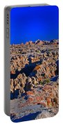 Badlands At Sunset Portable Battery Charger