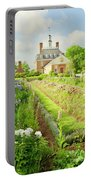 Ballroom Gardens In The Spring Portable Battery Charger