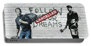 Banksy - The Tribute - Follow Your Dreams - Steve Jobs Portable Battery Charger