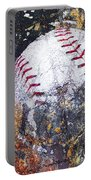 Baseball Art Version 6 Portable Battery Charger