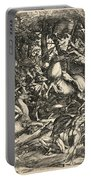 Battle Of Nude Men Portable Battery Charger