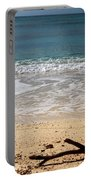 Beach At Grand Turk Portable Battery Charger