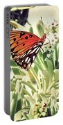 Beach Butterfly Portable Battery Charger