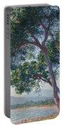 Beach Of Juan Les Pins Portable Battery Charger