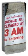 Beale Street Sign Portable Battery Charger