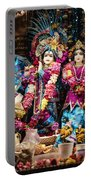 Beautiful Image Of Krishna And Radhe From Boise Hare Krishna Temple Portable Battery Charger