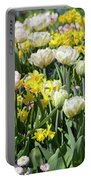 Beautiful Spring Flowers Portable Battery Charger