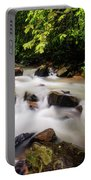 Beautiful Stream In Western Ghats Portable Battery Charger