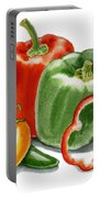 Bell Peppers Jalapeno Portable Battery Charger