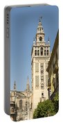 Bell Tower - Cathedral Of Seville - Seville Spain Portable Battery Charger