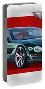 Bentley E X P  10 Speed 6 With  3 D  Badge  Portable Battery Charger