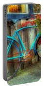 Bicycle Art 1 Portable Battery Charger