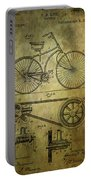 Bicycle Patent From 1890 Portable Battery Charger