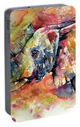 Big Colorful Elephant Portable Battery Charger