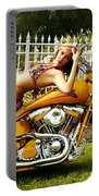 Bikes And Babes Portable Battery Charger