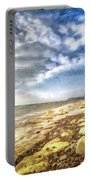 Birling Gap And Seven Sisters Art Portable Battery Charger