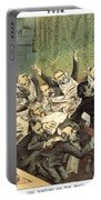 Blaine Cartoon, 1884 Portable Battery Charger