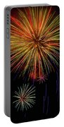 Blooming Fireworks Portable Battery Charger