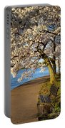 Blossoming Cherry Trees Portable Battery Charger