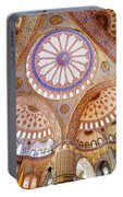 Blue Mosque Interior Portable Battery Charger