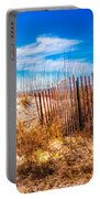 Blue Sky Over The Dunes Portable Battery Charger