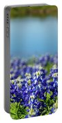Bluebonnets Portable Battery Charger