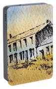 Boardinghouse Cable Ghost Town Montana Portable Battery Charger