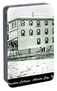 Boardinghouses And Cottages Atlantic City New Jersey C 1900 Portable Battery Charger