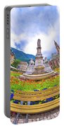 Bolzano Main Square Planet Perspective Panorama Portable Battery Charger