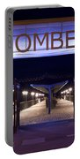 Boscombe Pier At Night Portable Battery Charger