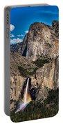 Bridalveil Falls Rainbow #2 Portable Battery Charger