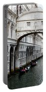 Bridge Of Sighs, Venice, Italy Portable Battery Charger