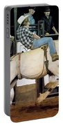 Bronc Riding Portable Battery Charger
