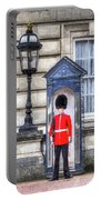 Buckingham Palace Queens Guard Art Portable Battery Charger