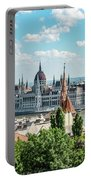 Budapest Skyline Portable Battery Charger