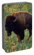 Buffalo Custer State Park Portable Battery Charger