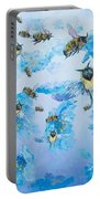 Bumble Bees Portable Battery Charger