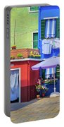 Burano Street Portable Battery Charger