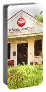 Burnside General Store - Digital Painting Portable Battery Charger