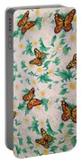 Butterflies And Daisies - 1 Portable Battery Charger