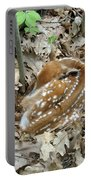 Camouflaged Fawn Portable Battery Charger
